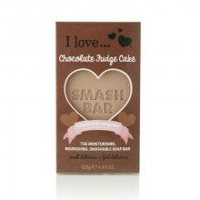 I Love Hydratační a vyživující mýdlo s vůní čokoládového dortu (Moisturising Nourishing Smashable Soap Bar) 125 g