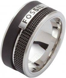Fossil Pánský ocelový prsten JF86390040 61 mm