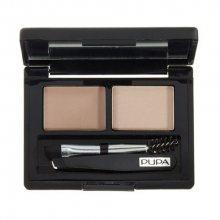 Pupa Paletka na úpravu obočí (Eyebrow Design Set) 1,1g 001 Blonde