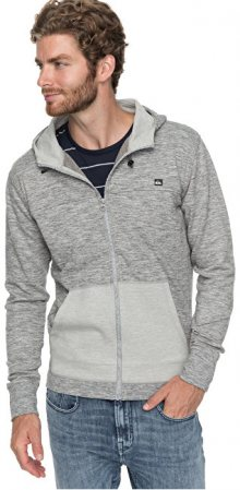 Quiksilver Mikina Aidrove Medium Grey Heather EQYFT03762-KPVH S