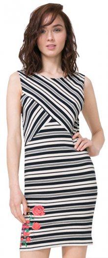 Desigual Dámské šaty Vest Four 72V2YG0 1000 XS