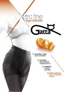 Gatta Černé dámské punčochové kalhoty Bye Cellulite Black S