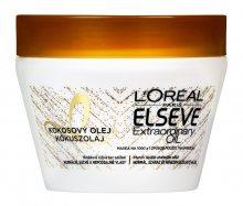 L´Oréal Paris Maska na vlasy s kokosovým olejem na normální až suché, nepoddajné vlasy Elseve Extraordinary Oil 300 ml