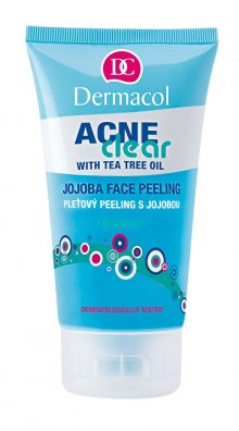 Dermacol Pleťový peeling s jojobou Acneclear (Face Peeling) 150 ml