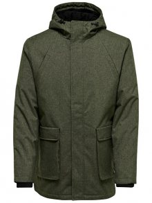 ONLY&SONS Pánská bunda Frode Jacket Grape Leaf S