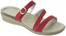 Scholl Dámské pantofle Elinor Gelactiv Red F265241051 37