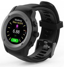 Cube1 GPS Sportwatch Tarnish Black