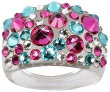 Troli Prsten Bubble Pink/Turquois 53 mm