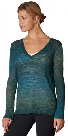 Prana Dámský svetr Julien Sweater Deep Teal M