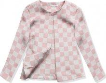 Růžové sako K5138