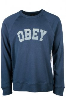 OBEY Obey Mikina Academy Crew Navy