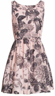Smashed Lemon Dámské krátké šaty Pink 18134/14 M