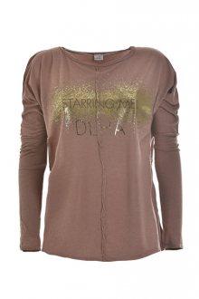 Deha Dámské triko Long Sleeve T-shirt B64261 Rose Blush S