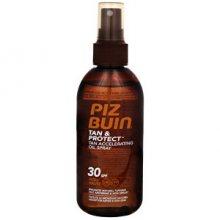 Piz Buin Ochranný olej ve spreji urychlující proces opalování Tan & Protect SPF 30 (Tan Accelerating Oil Spray) 150 ml