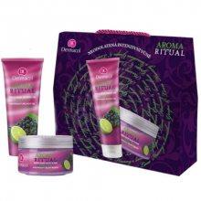 Dermacol Dárkový set tělové péče Hrozny s limetkou Aroma Ritual