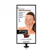 Iroha Hydratační aromaterapeutická krémová maska s kakaem a bambuckým máslem (Moisturizing Creamy Mask Chocolate) 25 g