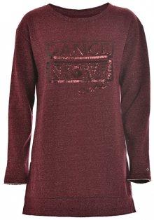 Deha Dámský svetr Maxi Sweatshirt D63670 Black S