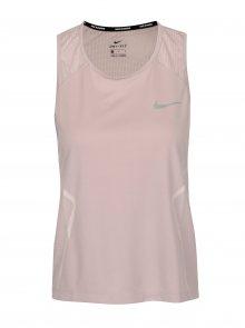 Růžové dámské funkční tílko Nike Dry Miler Tank