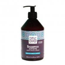 Reneé Blanche Vyživující šampon na suché a poškozené vlasy Natur Green Bio 500 ml