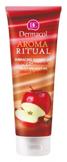 Dermacol Hřejivý sprchový gel jablko a skořice Aroma Ritual 250 ml