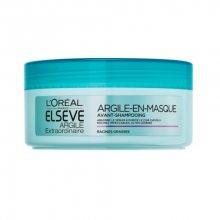 Loreal Paris Čisticí maska pro mastné vlasy Elseve Extraordinary Clay (Hair Mask) 150 ml