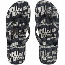 O\'Neill Fm Profile Pattern Flip Flops černá EUR 45