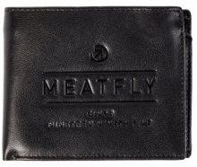 Meatfly Peněženka Seaway Leather Wallet A Black