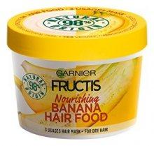 Garnier Vyživující maska na suché vlasy Fructis (Banana Hair Food) 390 ml