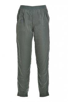 Deha Dámské kalhoty Logo Pants B64326 Greyish Green M