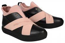 Fornarina Dámské kotníkové boty Yuma - Black/Nude Nappa/Lycra Wo`s Shoe PI18YM1063CC00 36