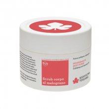 Biofficina Toscana Tělový peeling s granátovým jablkem a s čistícím efektem (Pomegranate Body Scrub) 220 ml