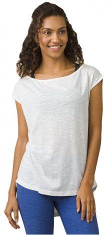 Prana Dámské triko Constance Top White S