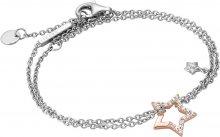 Esprit Stříbrný náramek s bronzovou hvězdou Vivid Star ESBR00451317