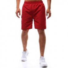 Pánské koupací šortky červené (bordó)