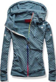 Jeans modrá mikina D392