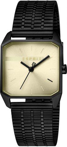 Esprit Cube Ladies Gold Black ES1L071M0045