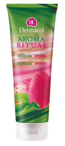 Dermacol Blahodárný sprchový gel zelený čaj a opuncie Aroma Ritual (Reviving Shower Gel Green Tea & Opuntia) 250 ml