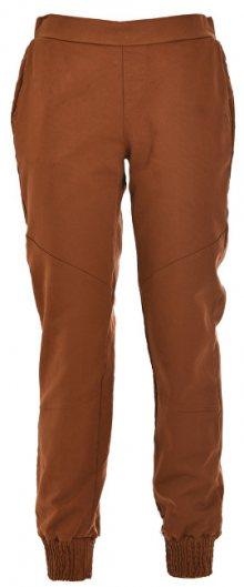 Deha Dámské kalhoty Jogger Pants D63325 Leather Brown S