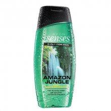 AvonSenses Amazon Jungle sprchový gel pro muže 500 ml