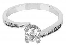 Brilio Silver Stříbrný zásnubní prsten 426 001 00500 04 - 1,95 g 50 mm