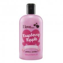 I Love Koupelový a sprchový krém s vůní malin (Raspberry Ripple Bath & Shower Creme) 500 ml