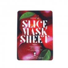 Kocostar Revitalizační plátková maska Jablko (Slice Sheet Mask) 20 ml