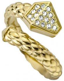 Just Cavalli Luxusní hadí prsten Just Glam JCRG000102 56 mm