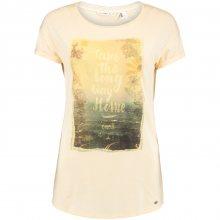 O\'Neill Lw Organic Cotton T-Shirt béžová M