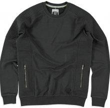 Cars Jeans Pánská černá mikina Pollux Black 4602601 S