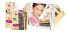 Dermacol 3D Hyaluron Therapy čisticí olej pro ženy 150 ml + make up Cover SPF30 30 g 210 k+ osmetická taštička dárková sada