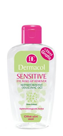 Dermacol Neparfémovaný odličovač očí Sensitive (Eye Make-Up Remover) 125 ml + 25 ml