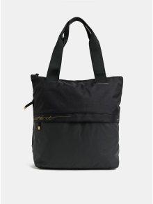 Černá dámská sportovní taška s detaily ve zlaté barvě Nike 20 l