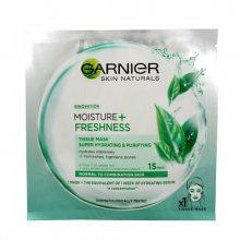 Garnier Moisture   Freshness superhydratační čistící textilní maska 32 g
