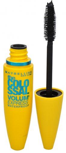 Maybelline Voděodolná řasenka s megakartáčkem pro kolosální objem Colossal Volum Express Waterproof 10 ml Black